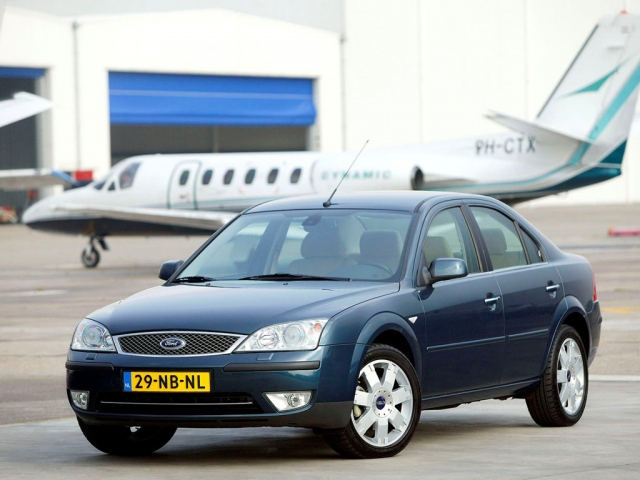 Ford Mondeo до 2007 седан